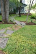 Front Yard and Garden Walkway Landscaping Inspirations 36