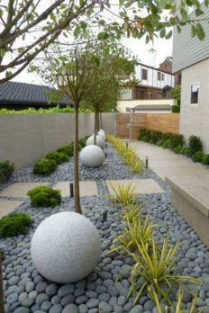Modern and Contemporary Front Yard Landscaping Ideas 10