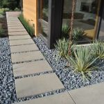 Modern and Contemporary Front Yard Landscaping Ideas 41
