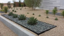 Modern and Contemporary Front Yard Landscaping Ideas 56
