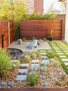 Modern and Contemporary Front Yard Landscaping Ideas 62