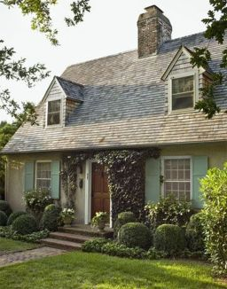 Wonderful European Cottage Exterior Design 87