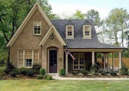 Wonderful European Cottage Exterior Design 97