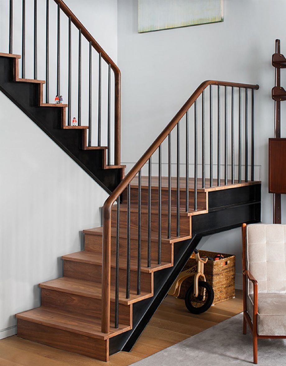 Ash33 Awesome Staircase Handrail Today 2020 08 13 | Modern Stair Rails Indoor | Beautiful | Unique Fancy Stair | Wooden | Industrial | Flat Bar