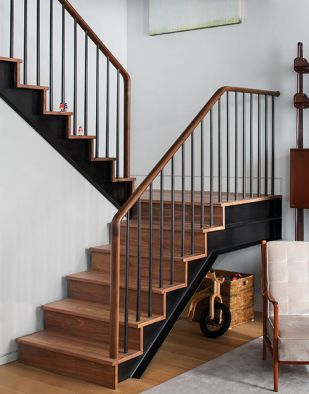 40 Awesome Modern Stairs Railing Design 13