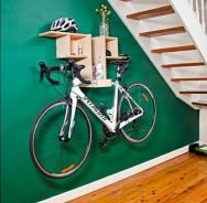 90 Brilliant Ideas to Make Hanging Bike Storage 12