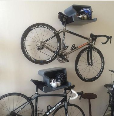 90 Brilliant Ideas to Make Hanging Bike Storage 18