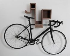 90 Brilliant Ideas to Make Hanging Bike Storage 25