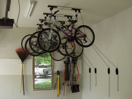 90 Brilliant Ideas to Make Hanging Bike Storage 29