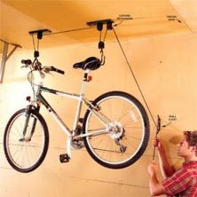 90 Brilliant Ideas to Make Hanging Bike Storage 4