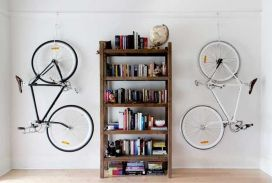 90 Brilliant Ideas to Make Hanging Bike Storage 44