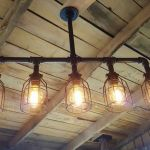 Breathtaking Rustic Ceiling Light Design 42