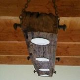 Breathtaking Rustic Ceiling Light Design 5