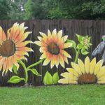 Stunning Creative Fence Ideas for Your Home Yard 17