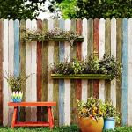 Stunning Creative Fence Ideas for Your Home Yard 40