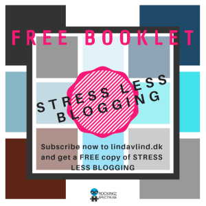 stress less blogging