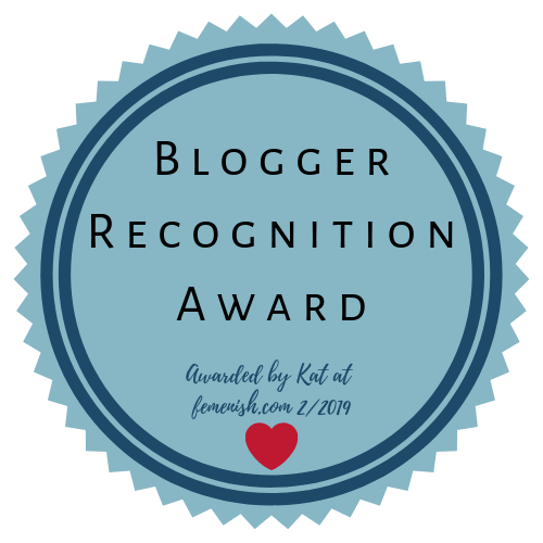 Blogger Recogniton Award for Rocking the Spectrum