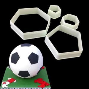 Football Cutter Set (4 pieces)