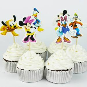 Clubhouse Cupcake Toppers (Pack of 24)