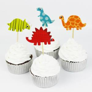 Dinosaurs Cupcake Toppers (Pack of 24)