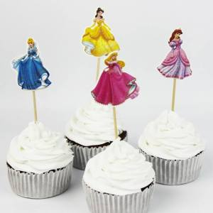 Princess Cupcake Toppers (Pack of 24)