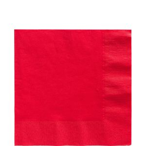 Red Napkins (Pack of 25)