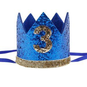 Blue/Gold Crown Number 3