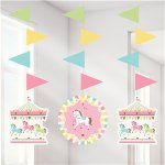 Carousel Hanging Cutouts (3 pieces)