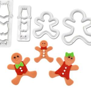 Gingerbread Man Cutters (4 pieces)