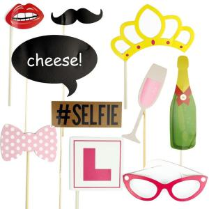 Hen Party Selfie Props (10 pieces)