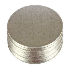 Silver Round Cake DRUM (35.5 cm) - Thick