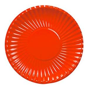 Red Plates 18 cm (10 pieces)