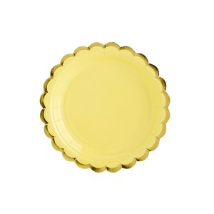 Yellow Chic Plates 18 cm (6 pieces)