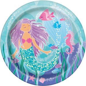 Magical Mermaid Plates 23 cm (8 pieces)