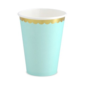 Mint Chic Paper Cups (6 pieces)