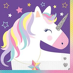 Magical Unicorn Napkins (pack of 16)