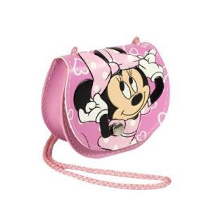 PINK Handbag Shoulder Strap Minnie Mouse