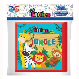 Jungle Animals Napkins (pack of 20)