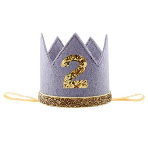 Grey/Gold Crown Number 2