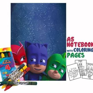 PJ Masks Coloring Book 14x20cm & Crayons Gift