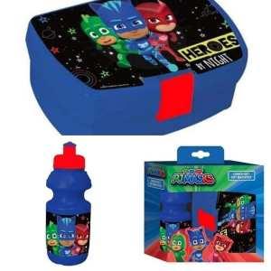 PJ Masks LUNCH SET (water bottle & lunch box)