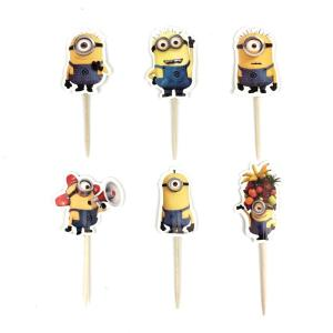 Minnions Cupcake Toppers (pack of 24)