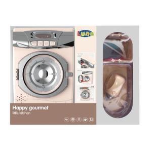 BROWN Washing Machine & Iron SET / Πλυντήριο & Σίδερο ΣΕΤ LUNA