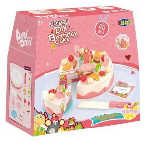 CAKE SET 40 pieces with LIGHT 21Χ10Χ20.5cm LUNA (3+)