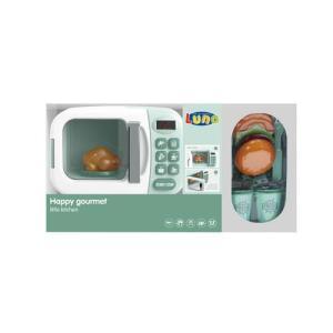 Green Microwave Set with sound & Light 40x12x22cm LUNA 18Μ+