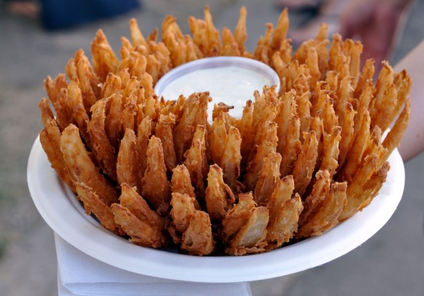 Blooming Onion at the OC Fair