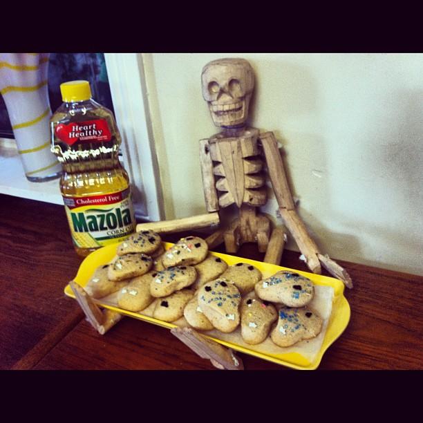 Almond & Orange Sugar Cookies