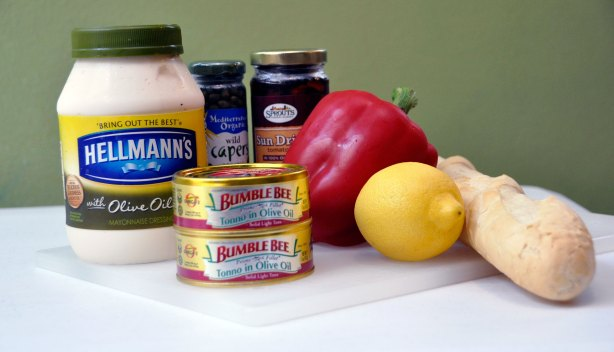 Tuna Crostini Ingredients