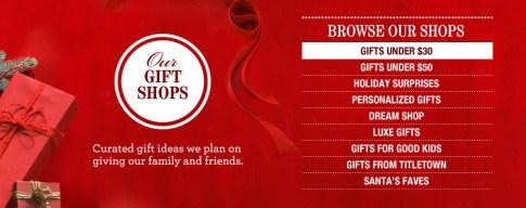 Lands' End Holiday Gift Shop