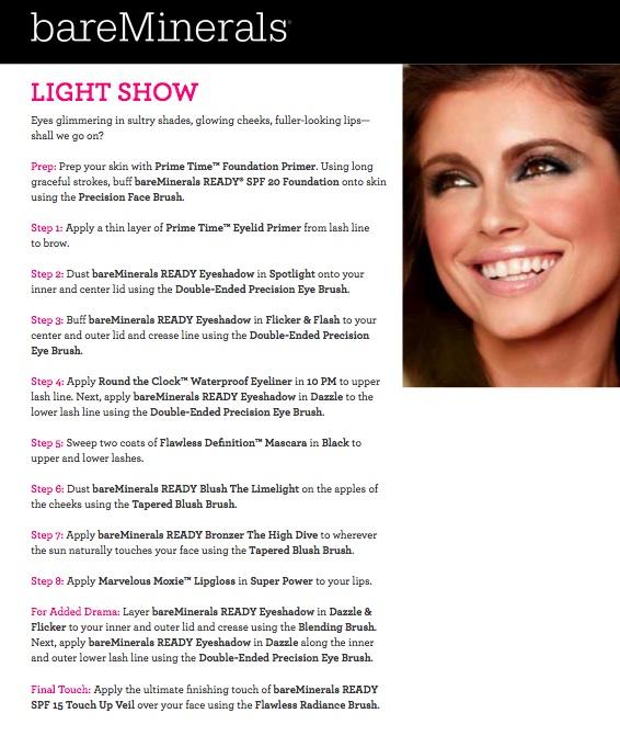 Light Show Makeup Look